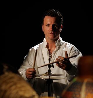 Jerome Viollet, batteur & percussionniste